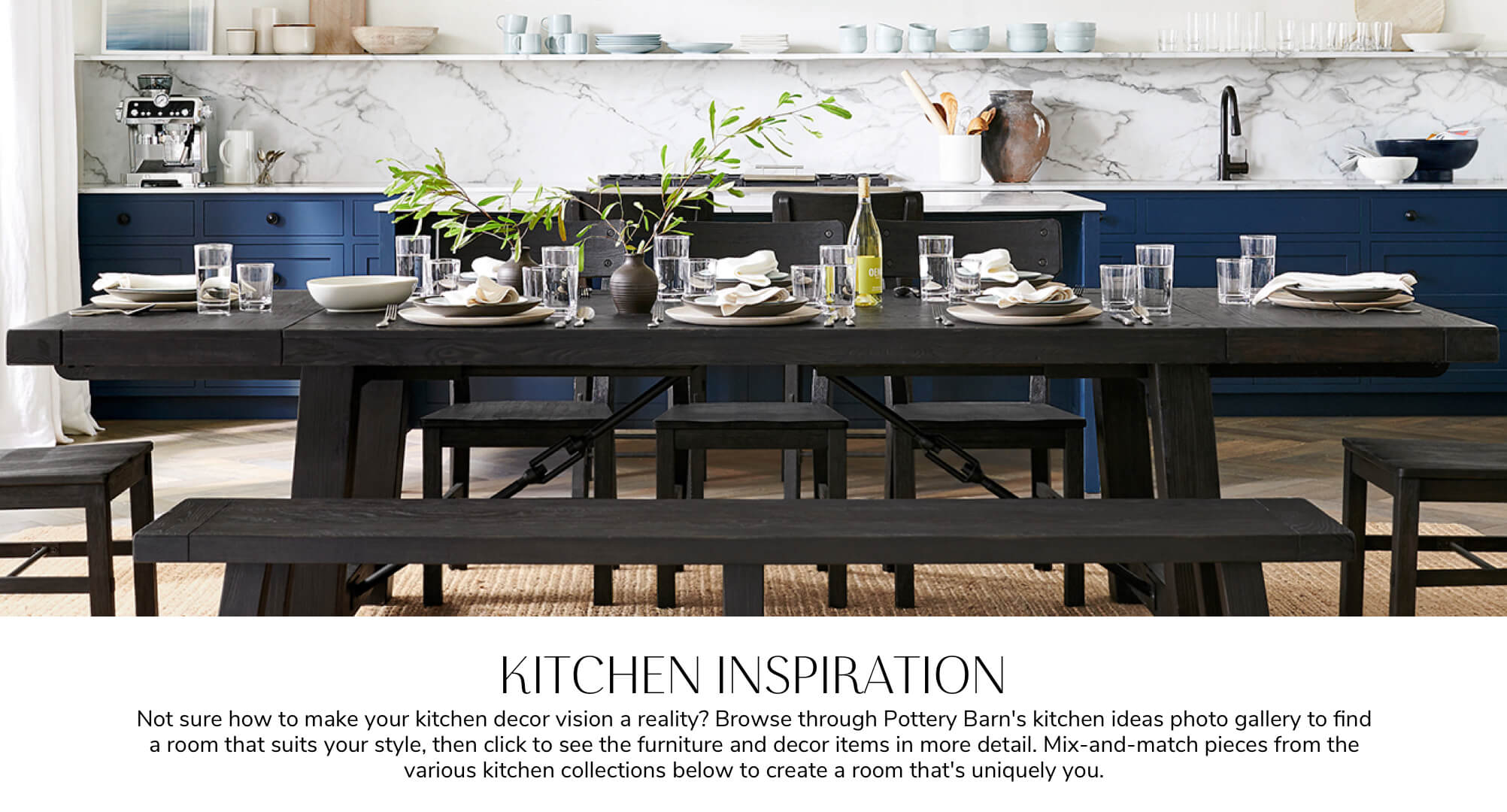 Shop Kitchen Collection for Furniture Online  Pottery Barn Kuwait